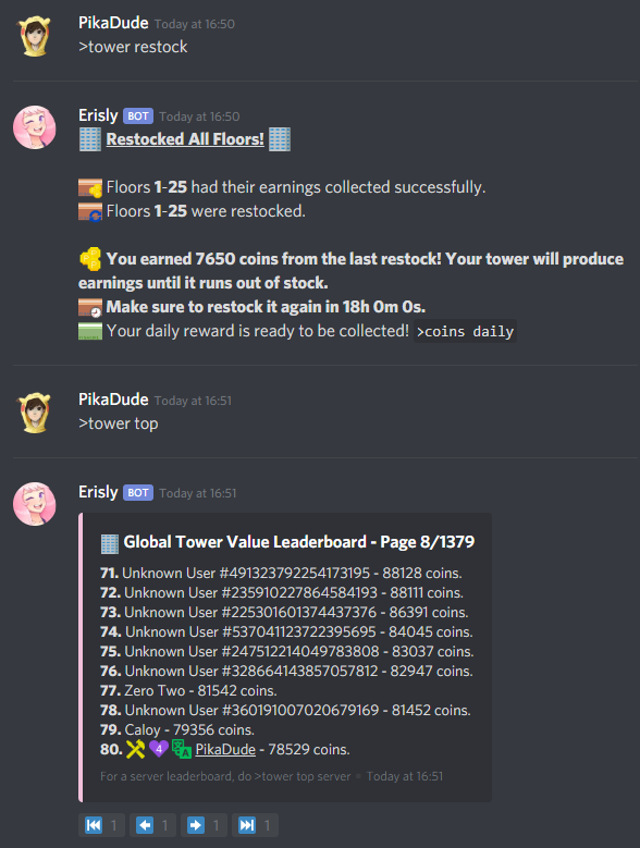 PikaGirl - The Discord Bot for Everyone